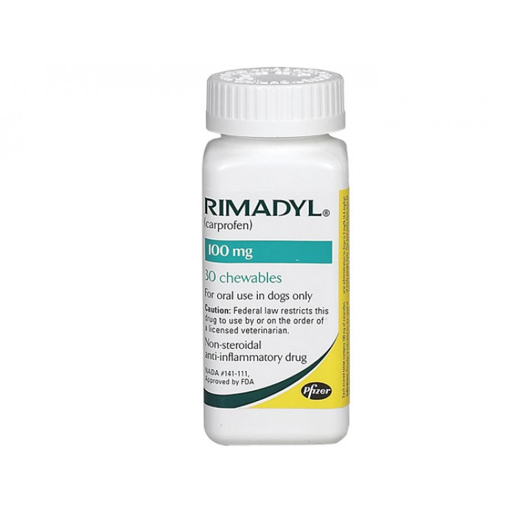 Rimadyl 100 mg - Farmacie Caini - PetMart Pet Shop Online