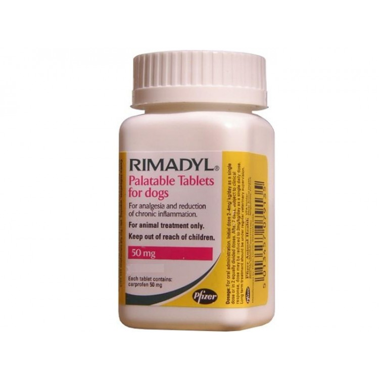 Rimadyl 50 mg - Farmacie Caini - PetMart Pet Shop Online