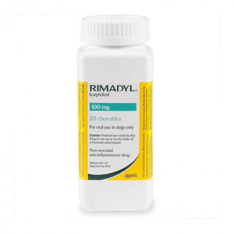 Rimadyl 100 mg, 20 tablete palatabile