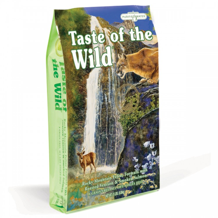 Taste of the Wild Cat - Rocky Mountains Formula - 6,6 kg