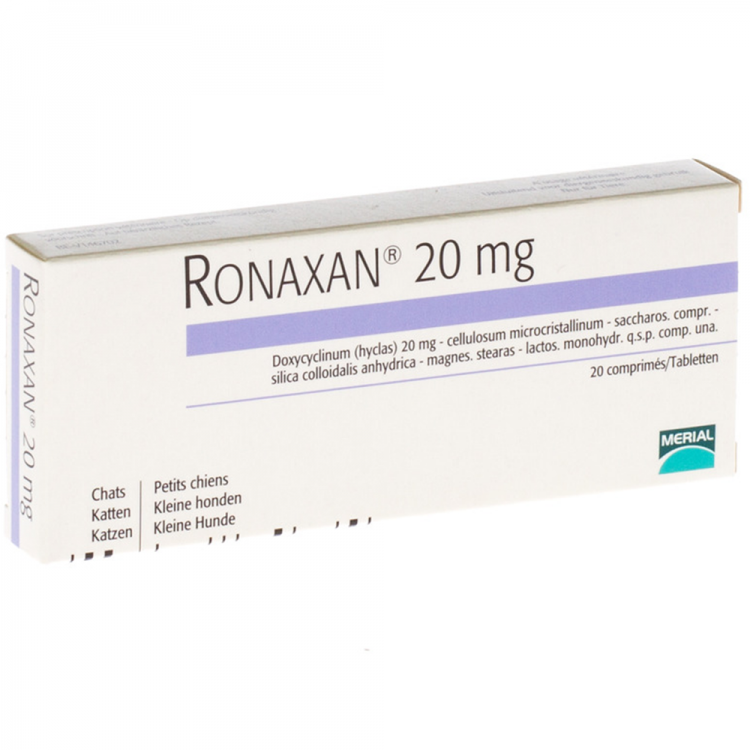 Ronaxan 20 mg 10 tablete