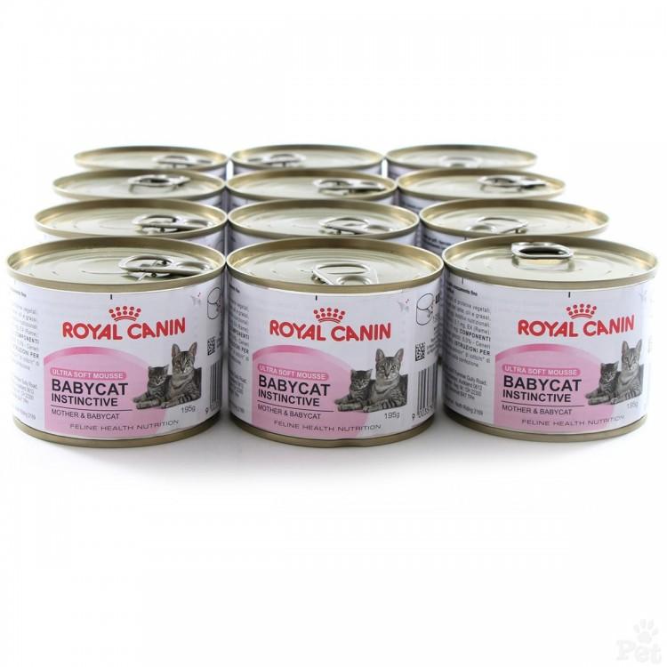 Royal Canin Babycat North cut. 195 g