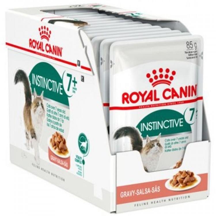 Royal Canin Feline Instinctive 7+, 12 plicuri x 85 g