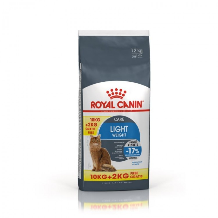 Royal Canin Feline Light Weight Care 10 kg + 2 kg CADOU