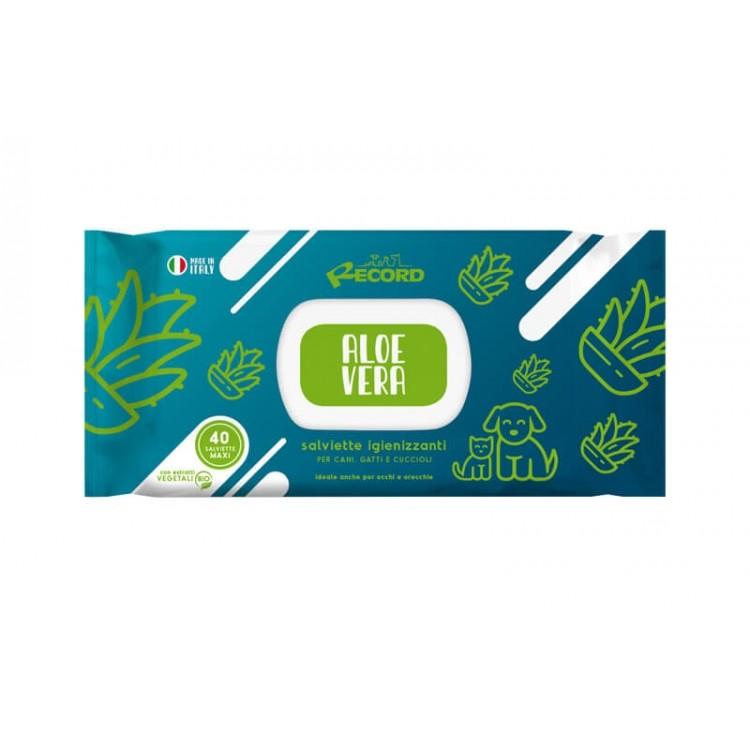 Servetele umede igienice, Aloe Vera, 40 buc