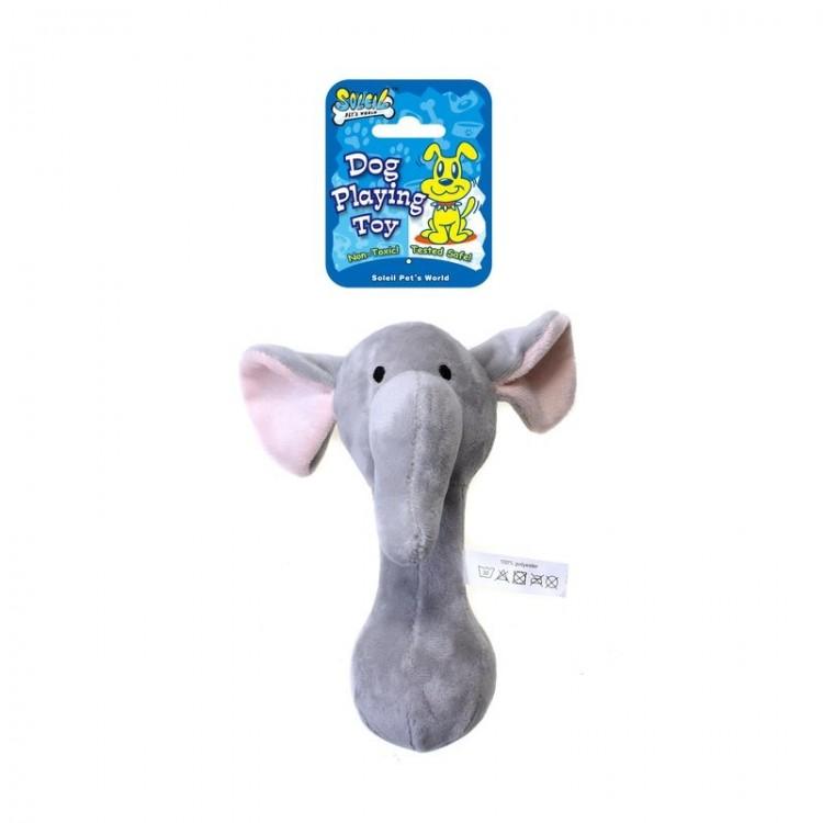Soleil Jucarie Plus Elefant P5772, 20 cm