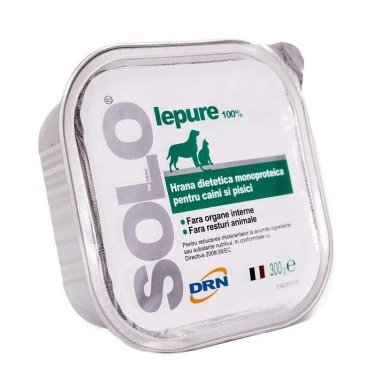 Solo, conserva 100% Iepure, 100 g