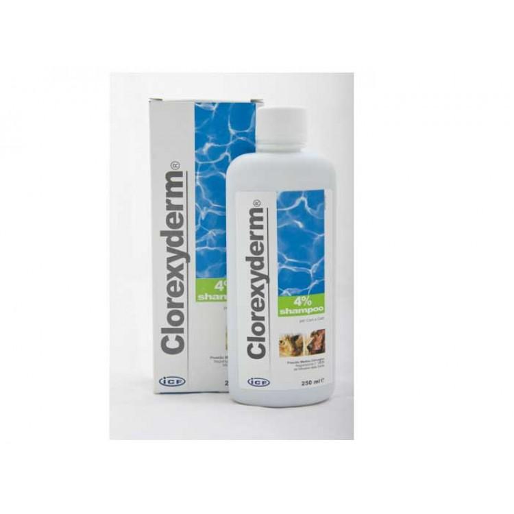 Clorexyderm Shampoo 4%, 250 ml