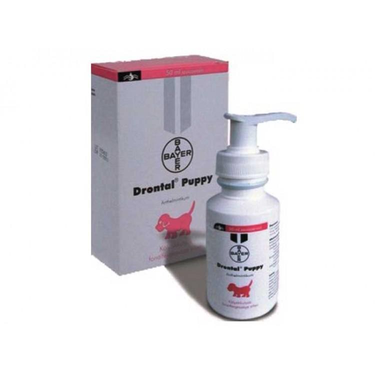 Drontal Puppy 50 ml - suspensie antiparazitara pentru catei
