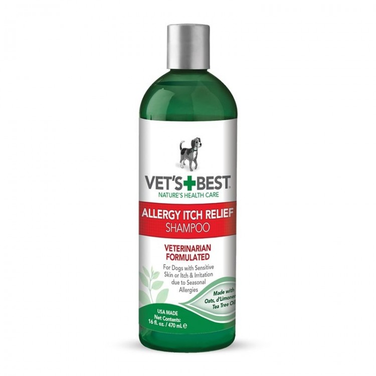 Vet's Best Allergy Itch Relief Shampoo, 470 ml
