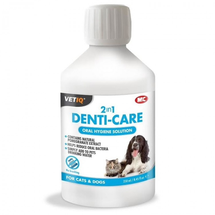 Vetiq 2 in 1 Denti-Care, 250 ml