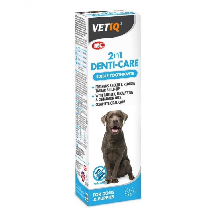 Vetiq 2 in 1 Denti-Care Paste, 70 g