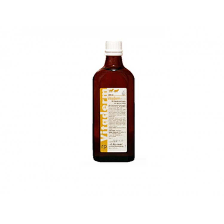 Vitaderm solutie orala 200 ml pentru blana si piele