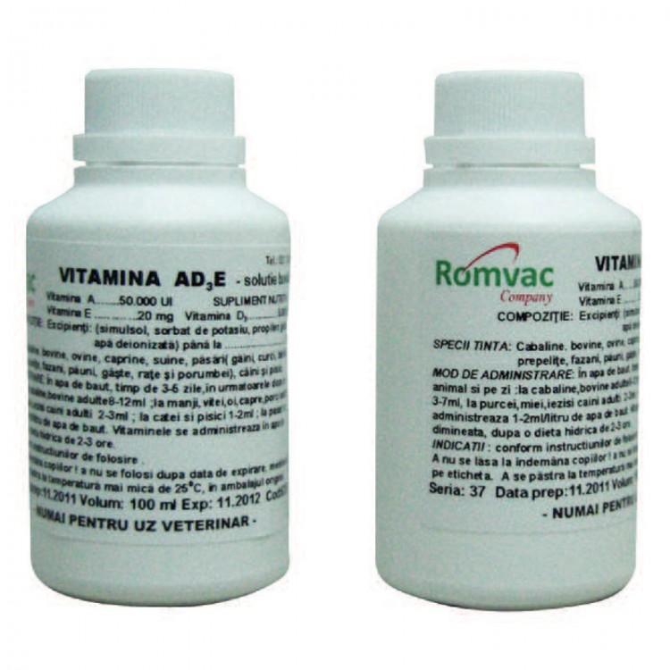 VITAMINA AD3E 50 ml