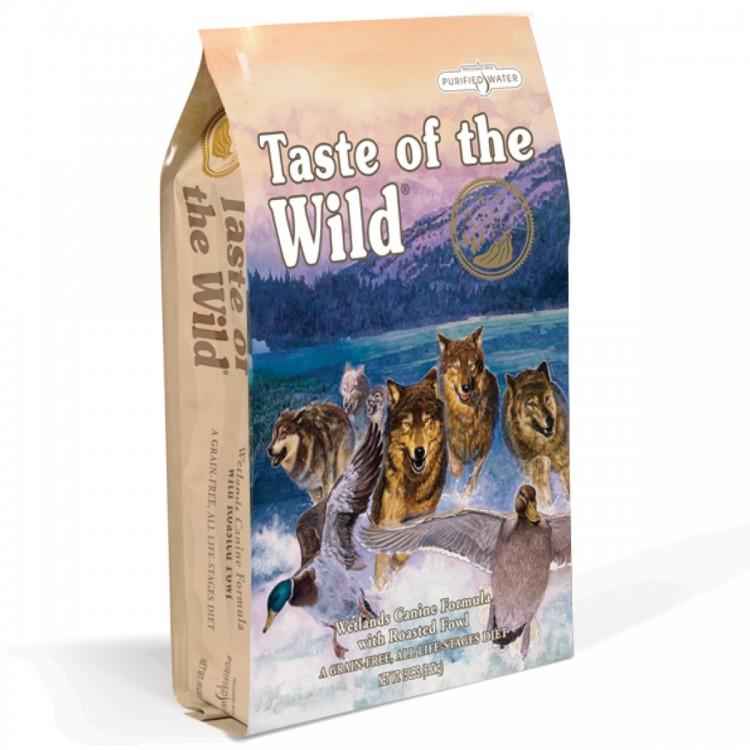Taste of the Wild - Wetlands - 12.2 kg