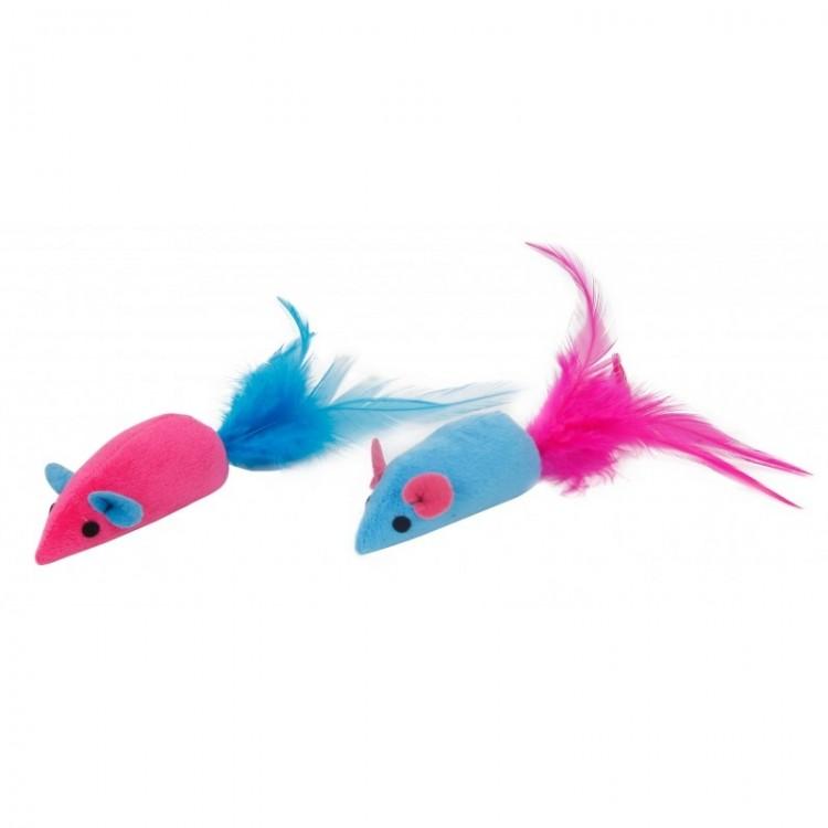 Jucarii soricel pentru pisica, Mon Petit Ami, Albastru/ Roz