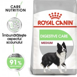Royal Canin Medium Digestive Care hrana uscata caine, confort digestiv