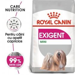Royal Canin Mini Exigent hrana uscata caine, apetit capricios