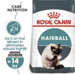 Royal Canin Hairball Care Adult hrana uscata pisica, limitarea ghemurilor blanii