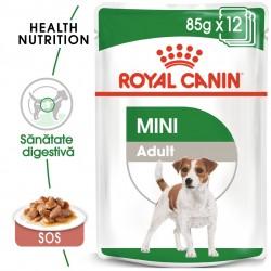 Royal Canin Mini Adult hrana umeda caine (in sos), 12 x 85 g