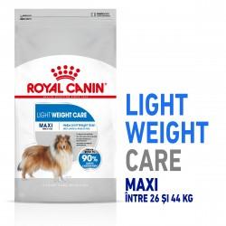 Royal Canin Maxi Light Weight Care Adult hrana uscata caine, limitarea greutatii