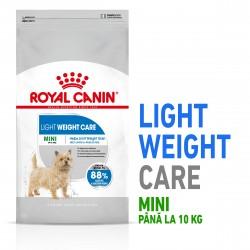 Royal Canin Mini Light Weight Care Adult hrana uscata caine, limitarea greutatii