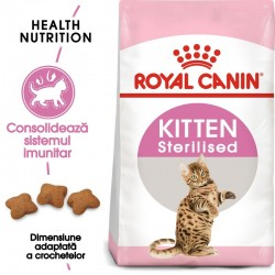 Royal Canin Kitten Sterilised hrana uscata pisica sterilizata junior