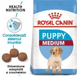 Royal Canin Medium Puppy hrana uscata caine junior