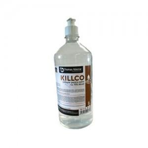 Lotiune pentru maini 70% alcool Killco, 1 L