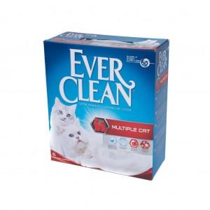 Nisip Igienic Ever Clean Multiple Cat, 6 l