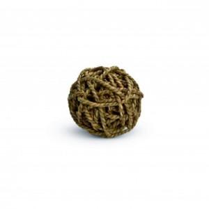 Jucarie minge impletita pentru rozatoare, Beeztees, 8 cm