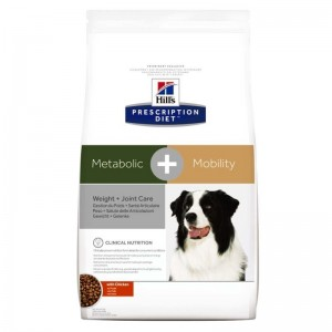 Hill's PD Metabolic + Mobility Weight + Joint Care hrana pentru caini 12 kg