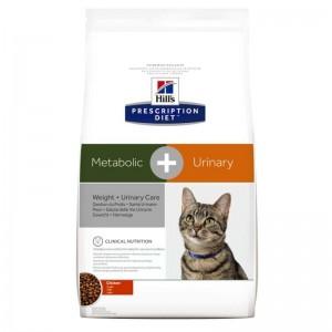 Hill's PD Metabolic + Urinary Weight + Urinary Care hrana pentru pisici 1.5 kg