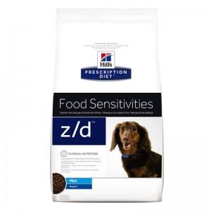 Hill's PD z/d Food Sensitivities Mini hrana pentru caini 1.5 k