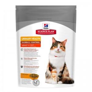 Hill's SP Adult Urinary and Hairball hrana pentru pisici 300 g