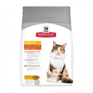 Hill's SP Adult Urinary and Hairball hrana pentru pisici 3 kg