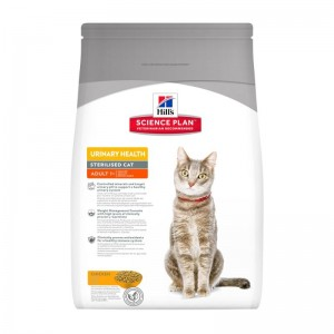Hills SP Adult Urinary and Sterilised hrana pentru pisici 3 kg