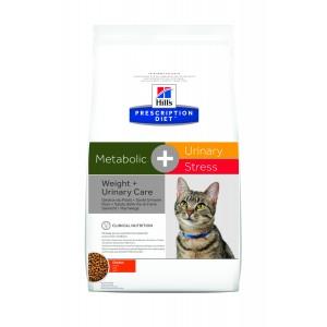 Hill's PD Metabolic + Urinary Stress hrana pentru pisici cu pui