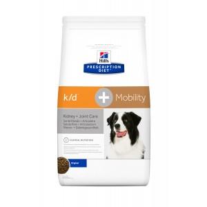 Hill's PD k/d Plus Mobility Care  hrana pentru caini, 12 kg