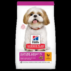 Hill's SP Mature Adult Small and Miniature hrana pentru caini cu pui