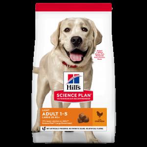 Hill's SP Adult Light Large Breed hrană pentru câini cu pui