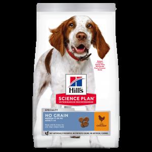 Hill's SP Adult No Grain hrană pentru câini cu pui