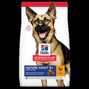 Hill's SP Mature Adult 5 Plus Large Breed hrana pentru caini cu pui