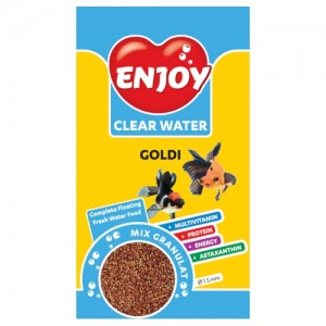 Hrana granule pesti, Enjoy Goldi Mix, 250 ml