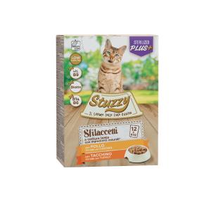 Stuzzy Pack, plic bucati sos sterilized pui/ curcan, 12x85 g