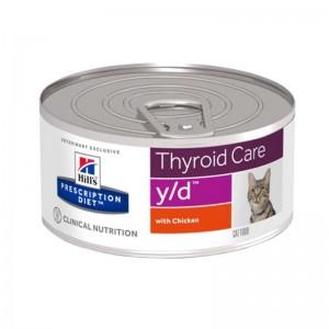 Hill's PD y/d Thyroid Care hrana pentru pisici 156 g