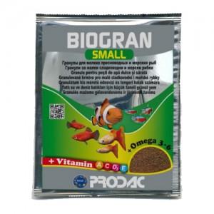 Hrana pentru pesti, Biogran Small Prodac, 12 g