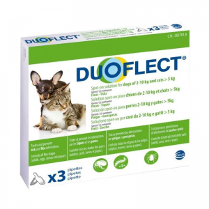 Duoflect CAT (>5 kg) and DOG (S), 2-10 kg