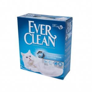 Nisip Litiera Ever Clean Extra Strong Clumping - Fara Parfum, 6 l