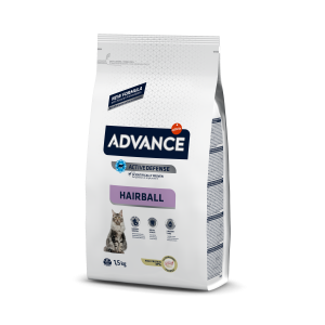 Advance Cat Hairball Curcan & Orez, 1.5 kg